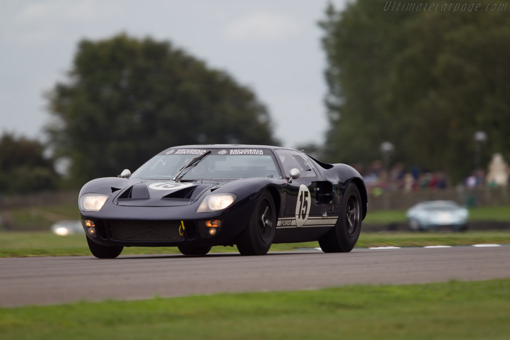 Ford GT40 - Chassis: GT40P/1019 - Entrant: Reial Auto. Club Catalunya - Driver: Simon Hadfield  - 2013 Goodwood Revival