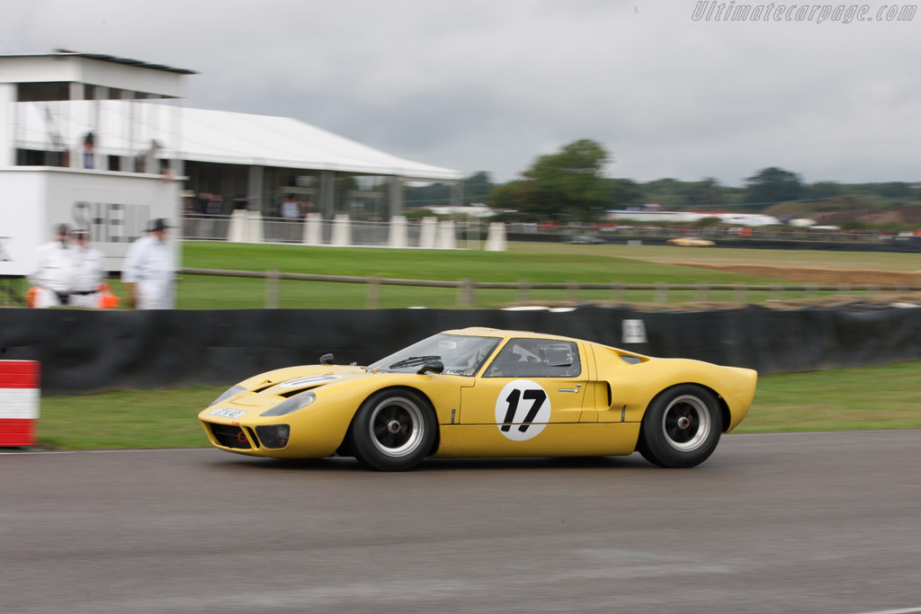 Ford GT40 - Chassis: GT40P/1053 - Entrant: David McErlain - Driver: David McErlain / Chris Chiles  - 2013 Goodwood Revival