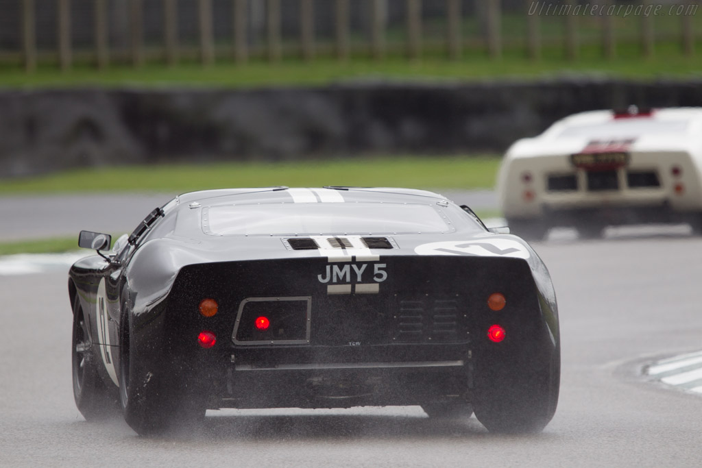 Ford GT40  - Entrant: John Young - Driver: John Young / Andy Newall  - 2013 Goodwood Revival
