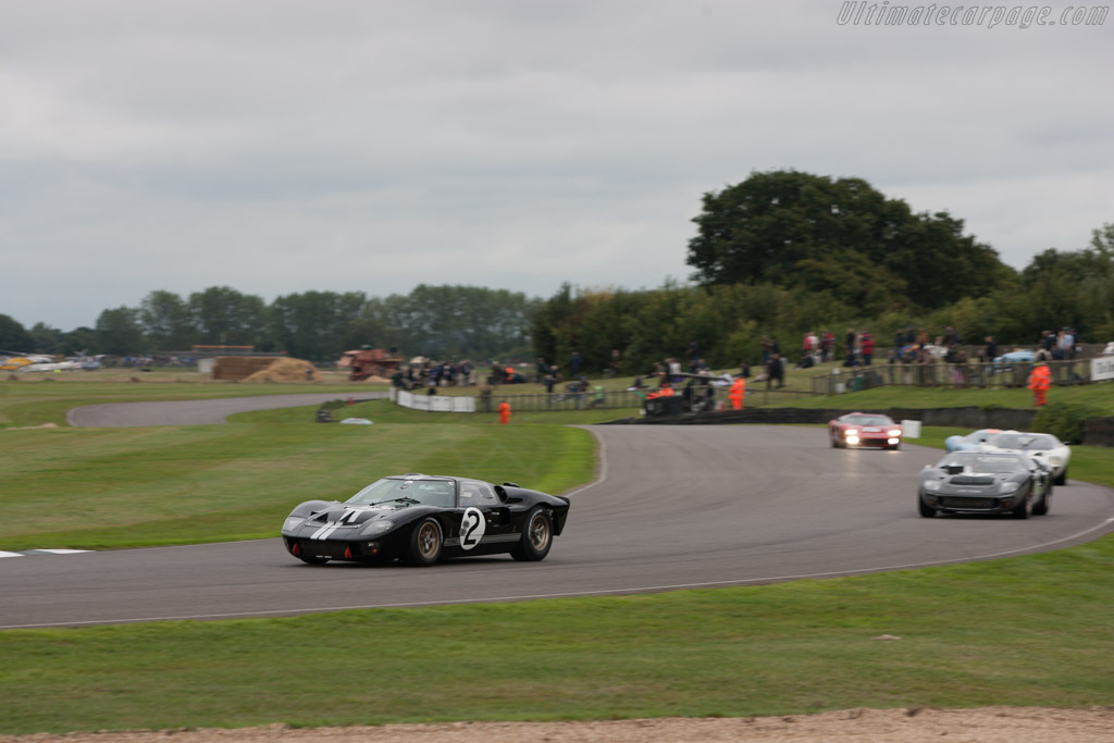 Ford GT40 Mk II - Chassis: GT40P/1046 - Entrant: Aaron Hsu  - 2013 Goodwood Revival