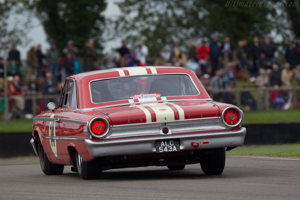 Ford Galaxie 500  - Driver: Michael Steele  - 2013 Goodwood Revival