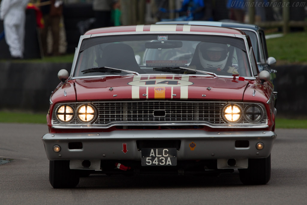 Ford Galaxie 500  - Entrant: Alex Boller - Driver: David Franklin  - 2013 Goodwood Revival