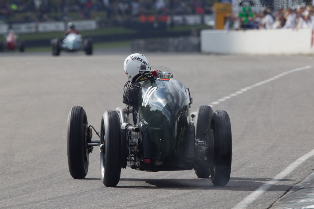 Frazer Nash Monoposto - Chassis: 2155 - Entrant: Burkhard List - Driver: Patrick Blakeney Edwards  - 2013 Goodwood Revival