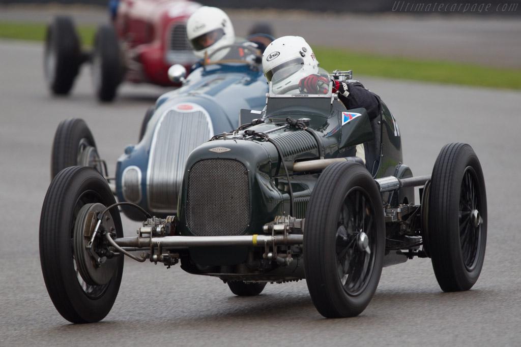 Frazer Nash Monoposto - Chassis: 2155 - Entrant: Burkhard List - Driver: Patrick Blakeney Edwards  - 2013 Goodwood Revival