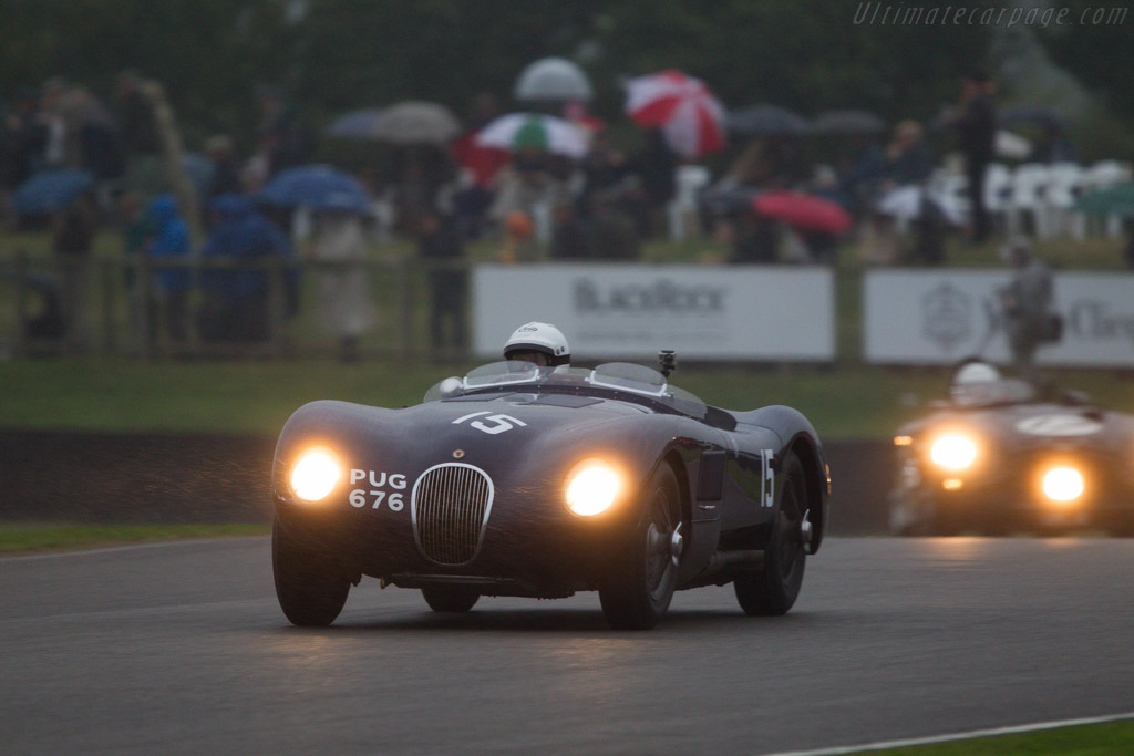 Jaguar C-Type - Chassis: XKC 021 - Entrant: Ben Cussons - Driver: Ben Cussons / Patrick Blakeney-Edwards  - 2013 Goodwood Revival