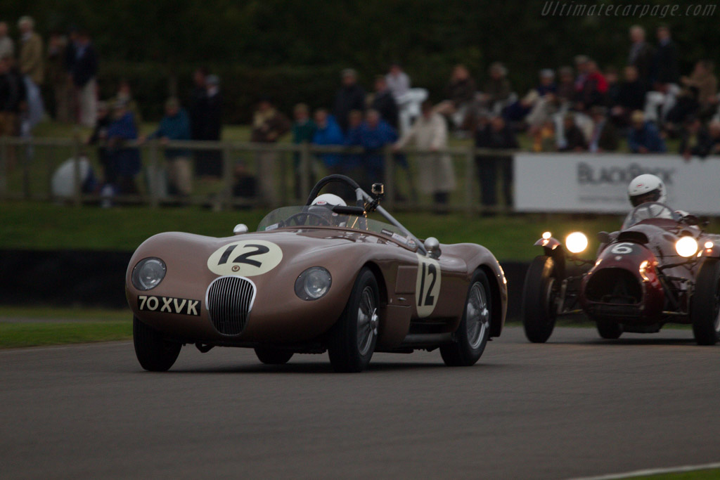 Jaguar C-Type - Chassis: XKC 018 - Entrant: Jaguar Heritage Racing - Driver: John Young  - 2013 Goodwood Revival