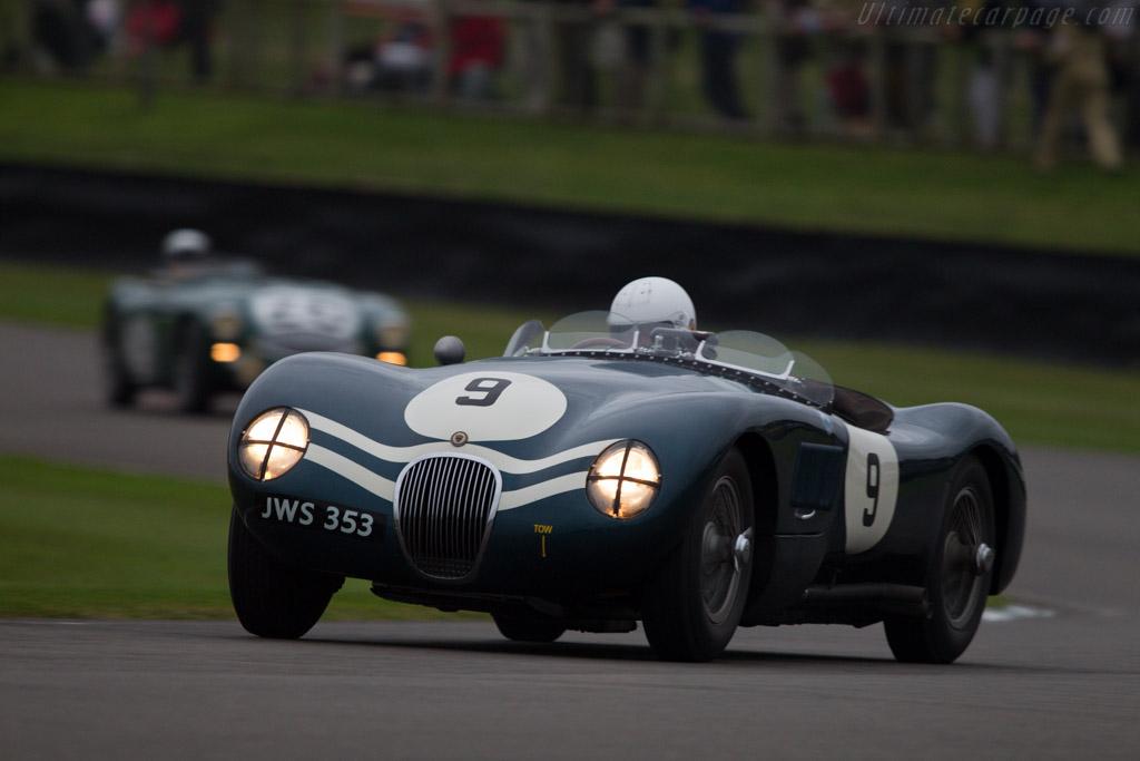 Jaguar C-Type - Chassis: XKC 006 - Entrant: Stefan Ziegler - Driver: Stefan Ziegler / Sam Hancock - 2013 Goodwood Revival