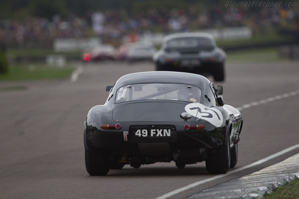Jaguar E-Type Lightweight Low Drag - Chassis: 850663 - Driver: Ross Warburton  - 2013 Goodwood Revival
