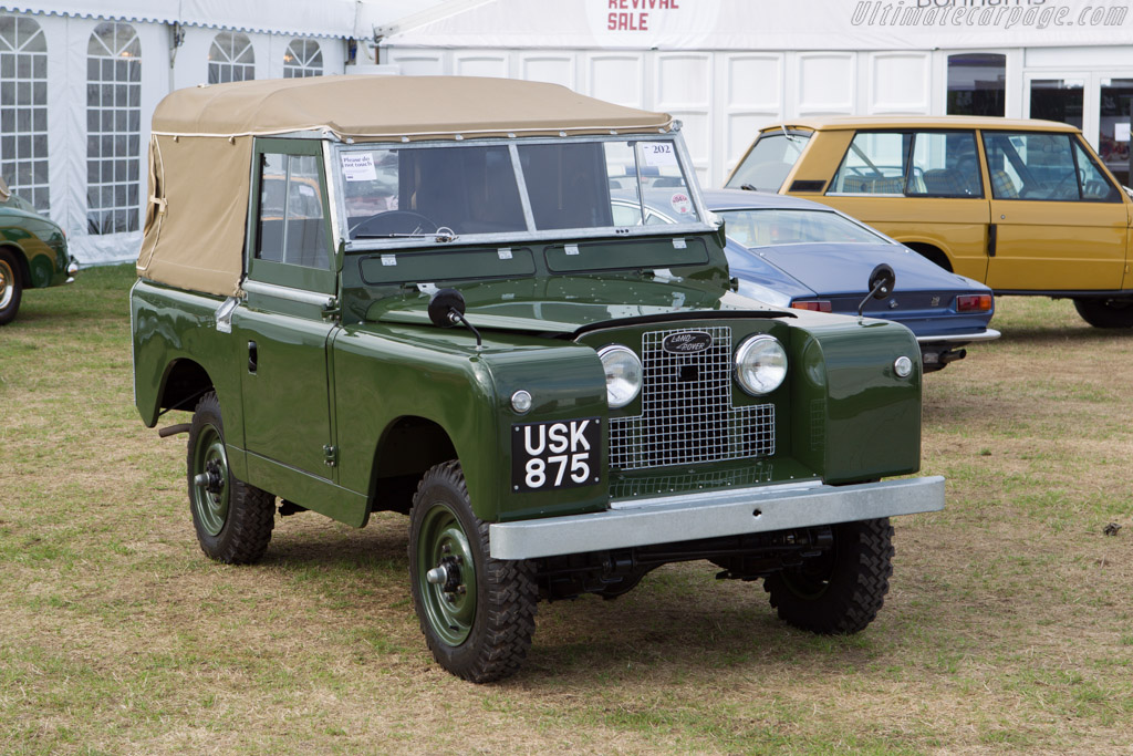 Land Rover Series II - Chassis: 141901773   - 2013 Goodwood Revival