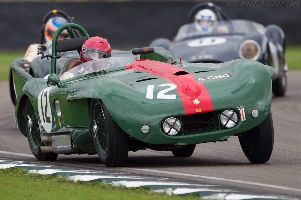 Lister Bristol - Chassis: BHL4 - Entrant: Barry Wood - Driver: Tony Wood  - 2013 Goodwood Revival
