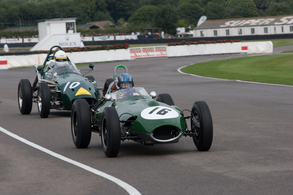 Lotus 16 Climax - Chassis: 363 - Driver: Roger Wills  - 2013 Goodwood Revival