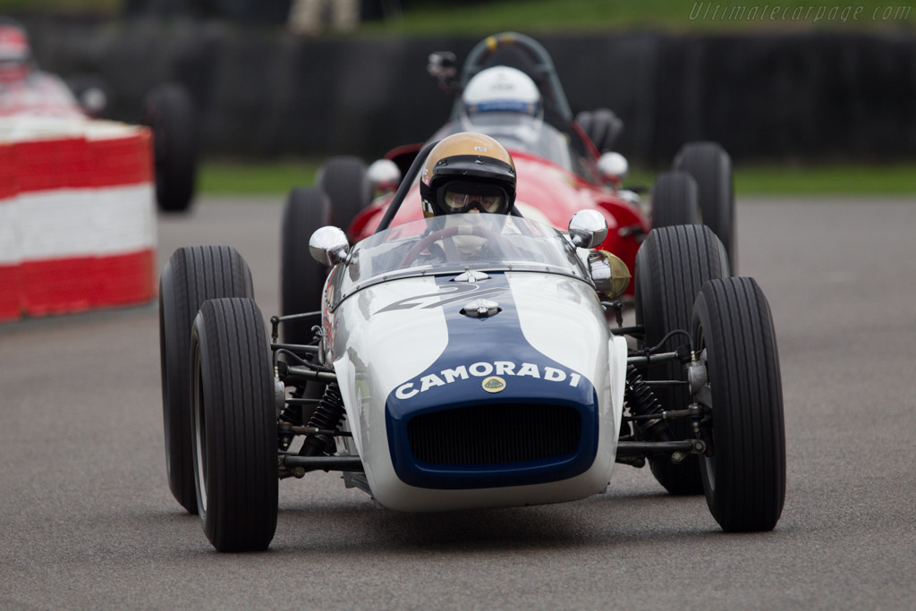 Lotus 18 Climax - Chassis: 908 - Entrant: Olav Glasius - Driver: Simon Diffey - 2013 Goodwood Revival