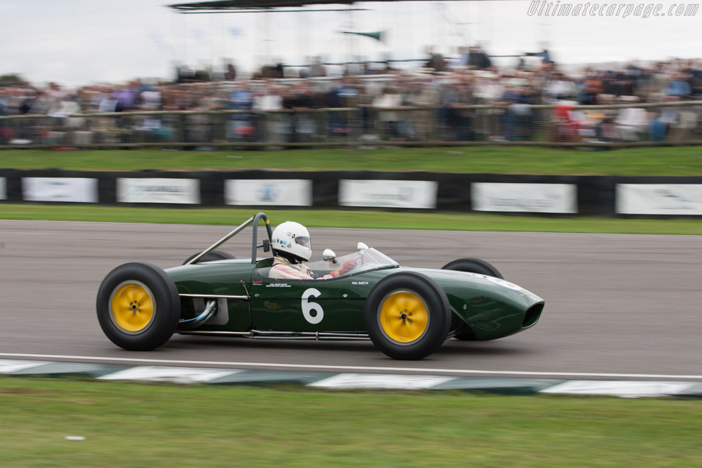 Lotus 18 Climax - Chassis: 373 - Driver: Paul Smeeth  - 2013 Goodwood Revival