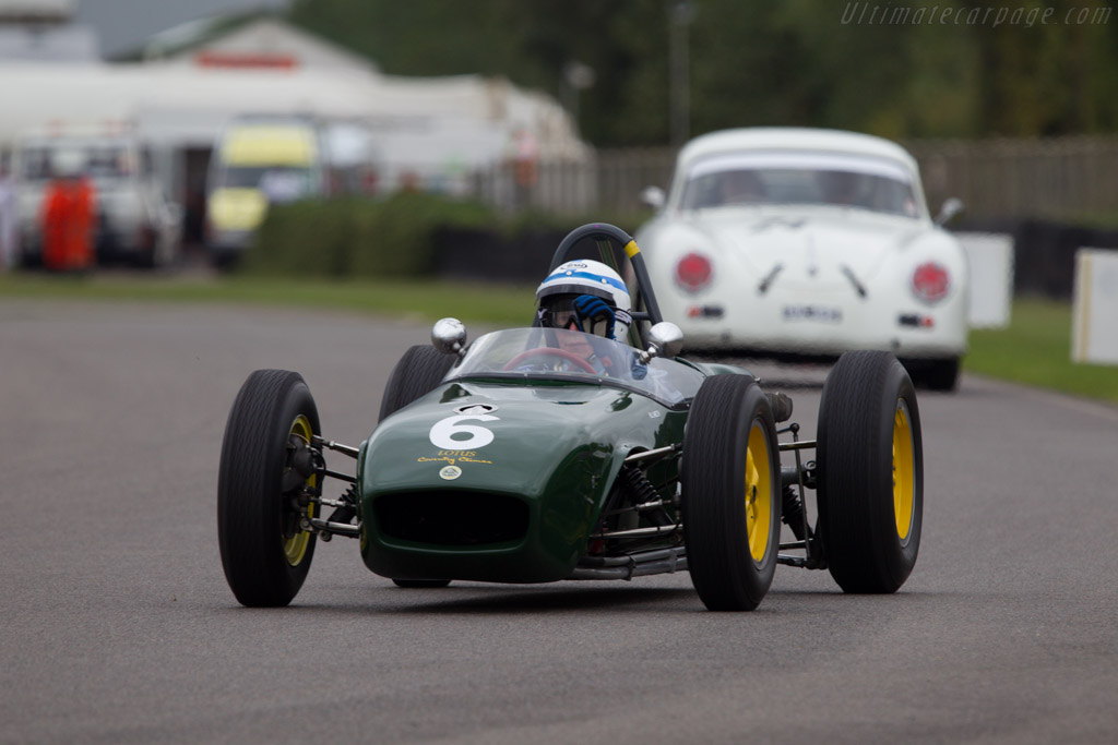 Lotus 18 Climax - Chassis: 373 - Driver: John Surtees  - 2013 Goodwood Revival