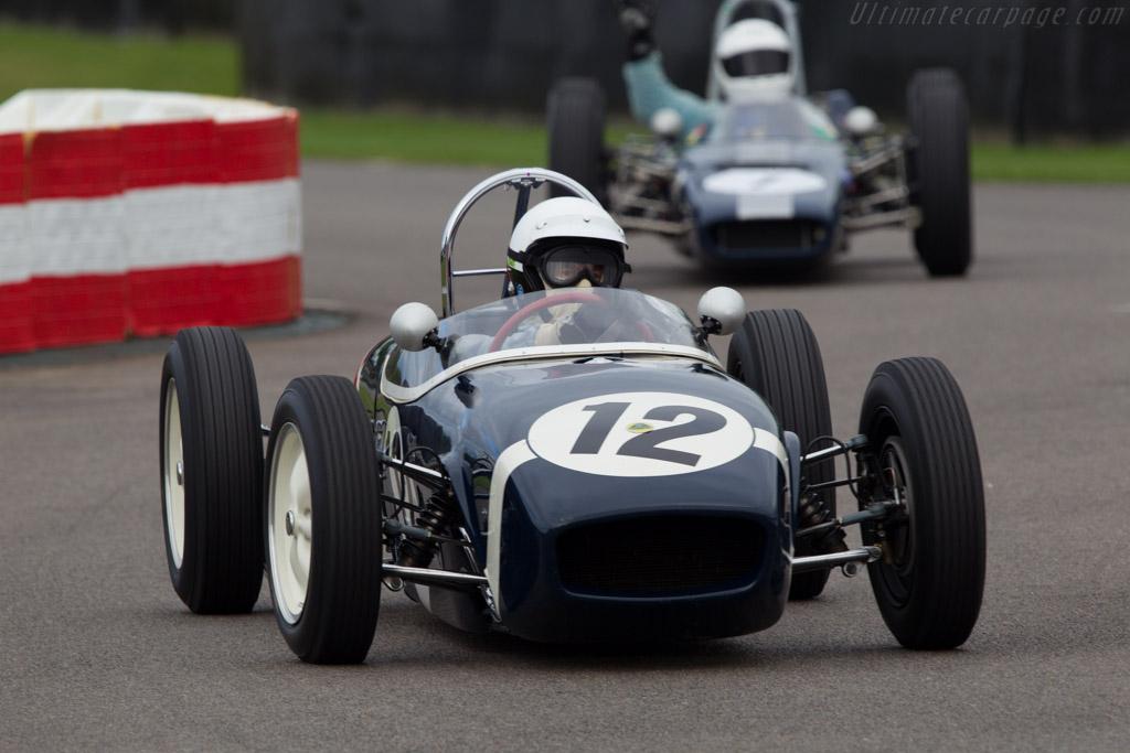 Lotus 18 Climax - Chassis: 18-J-847 - Driver: John Delane  - 2013 Goodwood Revival