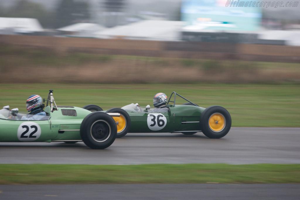 Lotus 21 Climax  - Entrant: Tony Best - Driver: Rob Hall  - 2013 Goodwood Revival