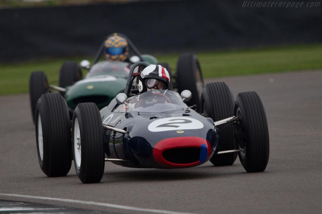 Lotus 24 BRM - Chassis: P1 - Driver: Nigel Williams  - 2013 Goodwood Revival