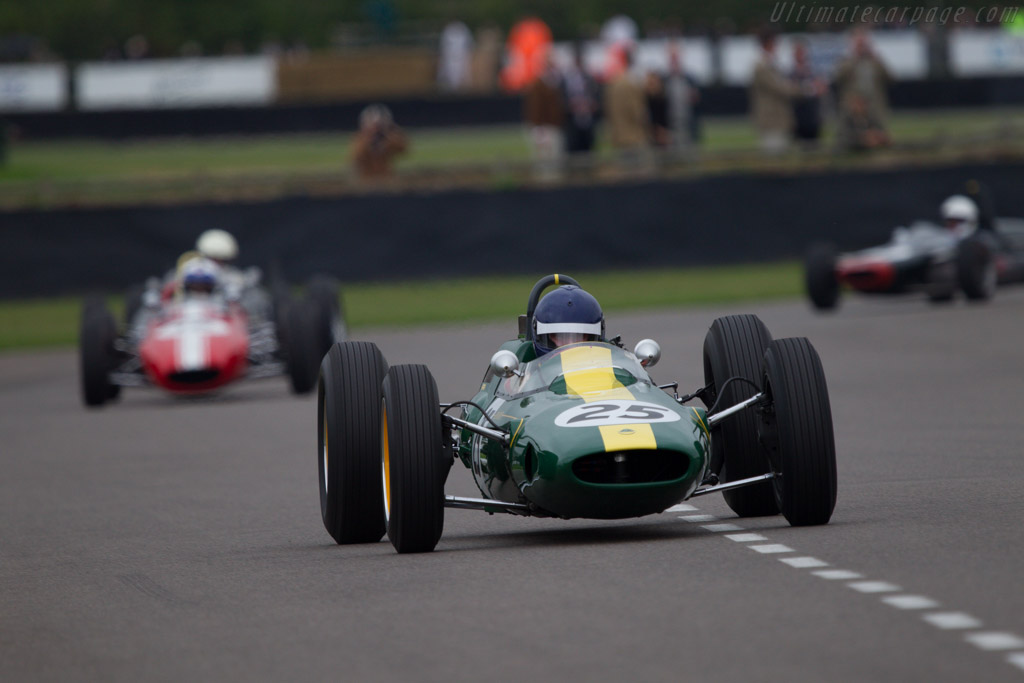 Lotus 25 Climax - Chassis: R3 - Entrant: Classic Team Lotus - Driver: Andy Middlehurst  - 2013 Goodwood Revival
