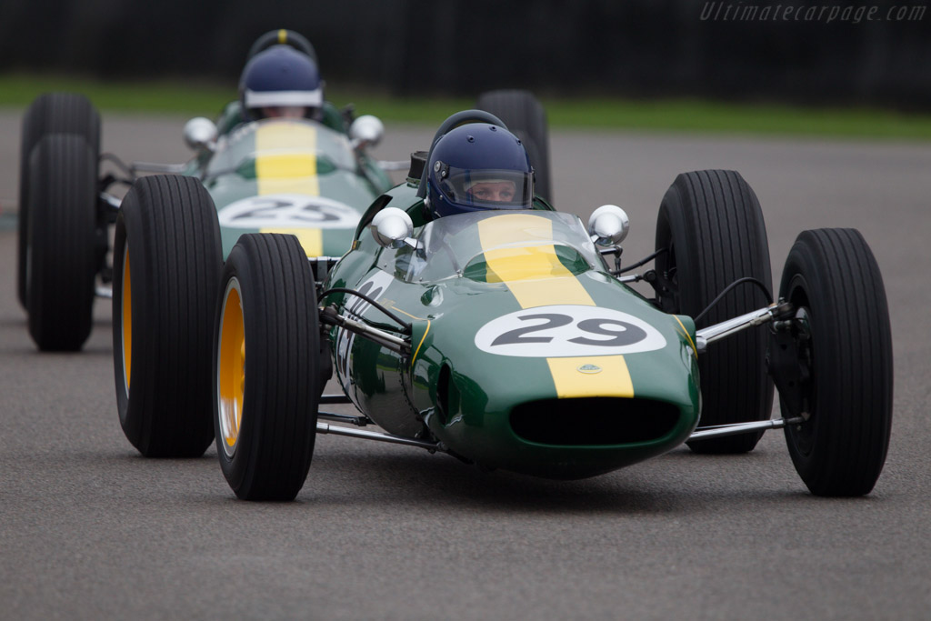 Lotus 25 Climax  - Driver: Nick Fennell  - 2013 Goodwood Revival