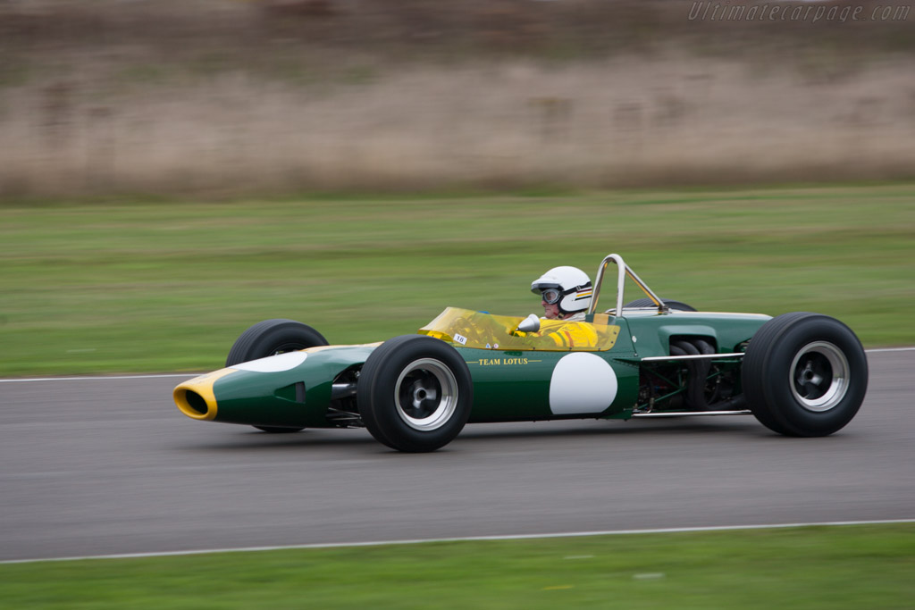 Lotus 48 Ford Chassis 48 1 2013 Goodwood Revival