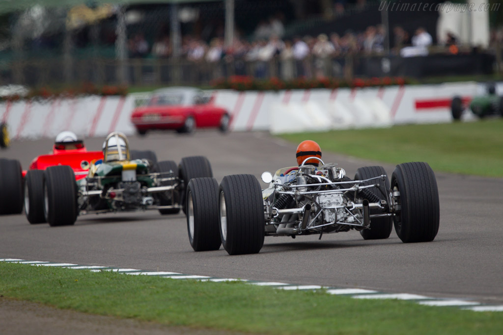 Lotus 49 Cosworth - Chassis: R3 - Driver: Tiff Needell  - 2013 Goodwood Revival
