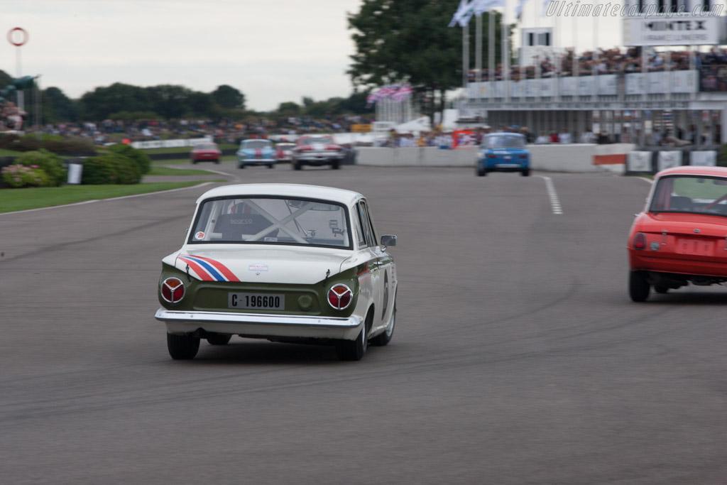 Lotus Cortina - Chassis: BA74FM59731 - Driver: Arne Berg  - 2013 Goodwood Revival