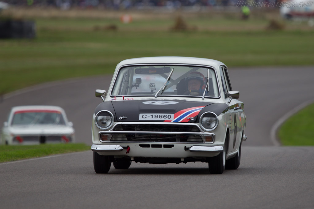 Lotus Cortina - Chassis: BA74FM59731 - Entrant: Arne Berg - Driver: Barrie Williams  - 2013 Goodwood Revival