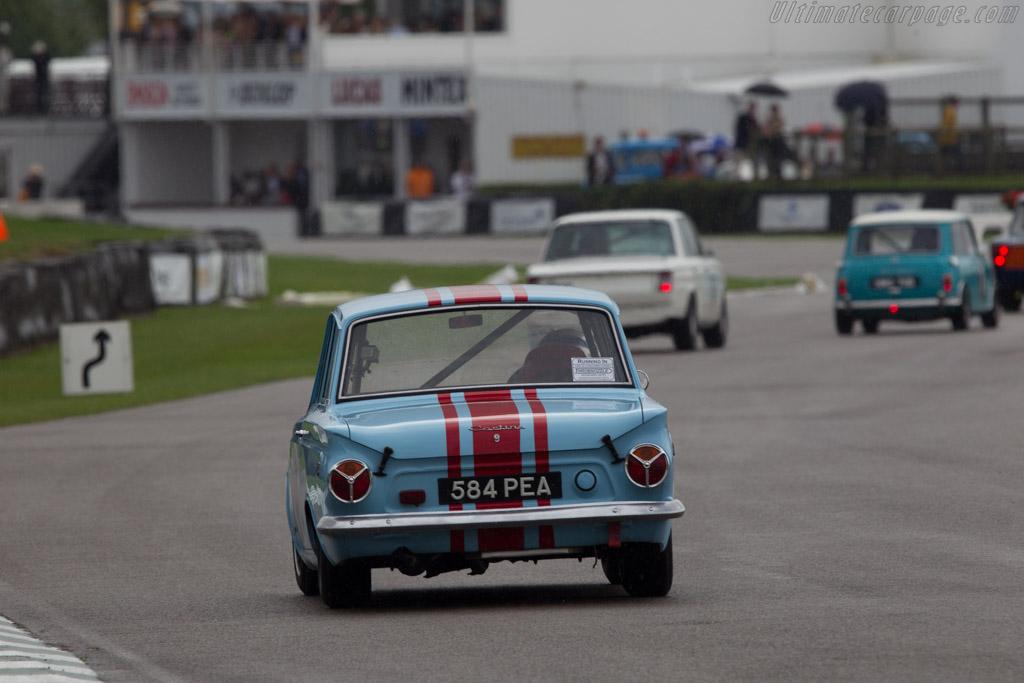 Lotus Cortina  - Entrant: Joe Allenby-Byrne - Driver: Derek Bell  - 2013 Goodwood Revival