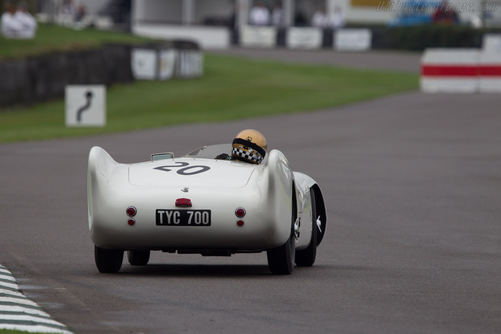 Lotus VIII MG - Chassis: Mk6/2-1 - Entrant: Olav Glasius - Driver: Simon Diffey  - 2013 Goodwood Revival
