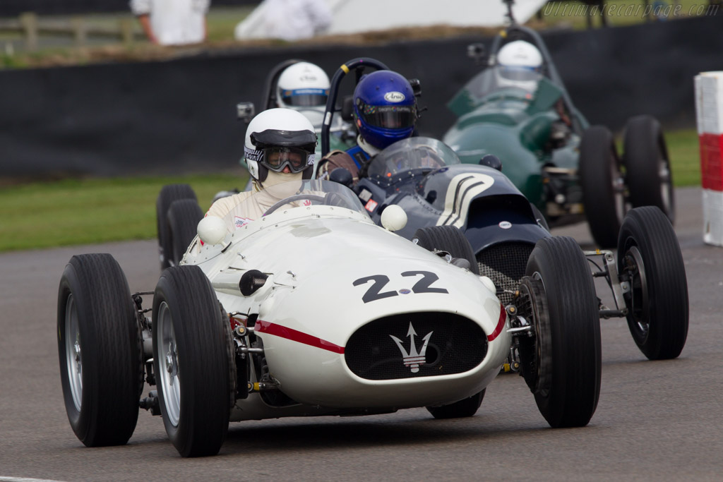 Maserati 250F - Chassis: 2521 - Driver: Wolf-Dieter Baumann  - 2013 Goodwood Revival