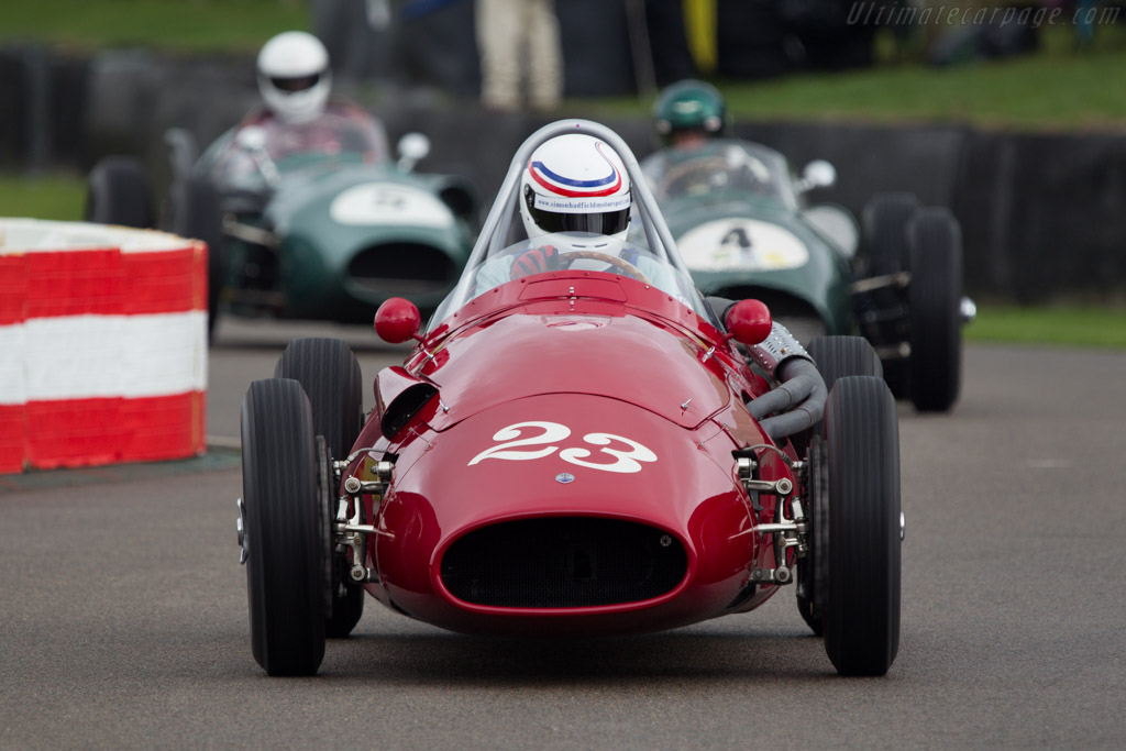 Maserati 250F - Chassis: 2524 - Entrant: Reial Auto. Club Catalunya - Driver: Simon Hadfield  - 2013 Goodwood Revival