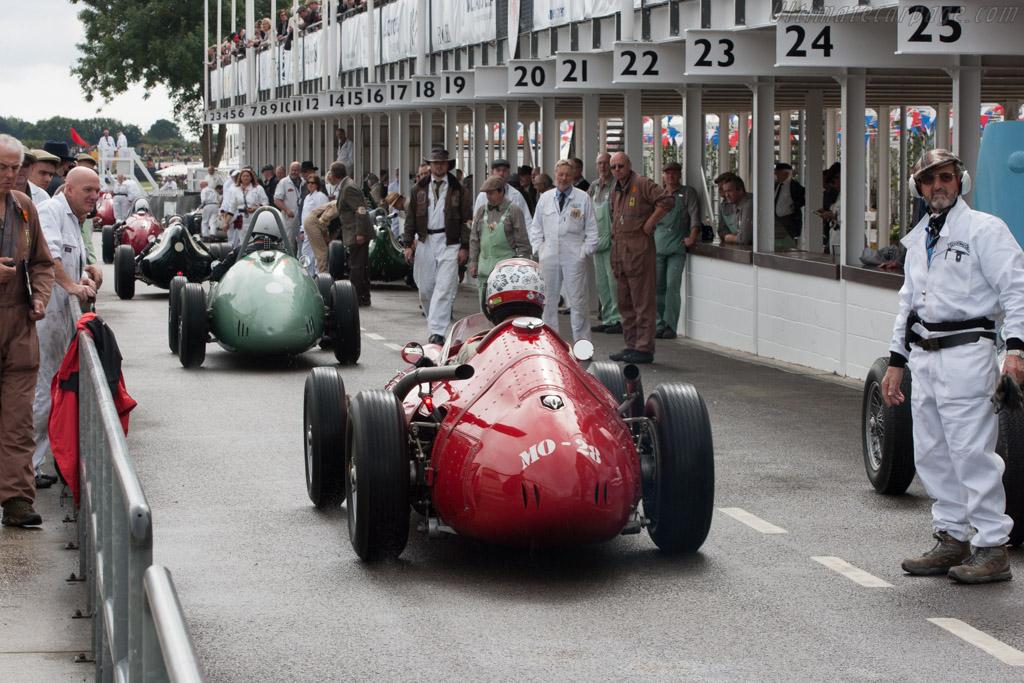 Maserati 250F T2 V12 - Chassis: 2531 - Entrant: Klaus Werner - Driver: Max Werner  - 2013 Goodwood Revival