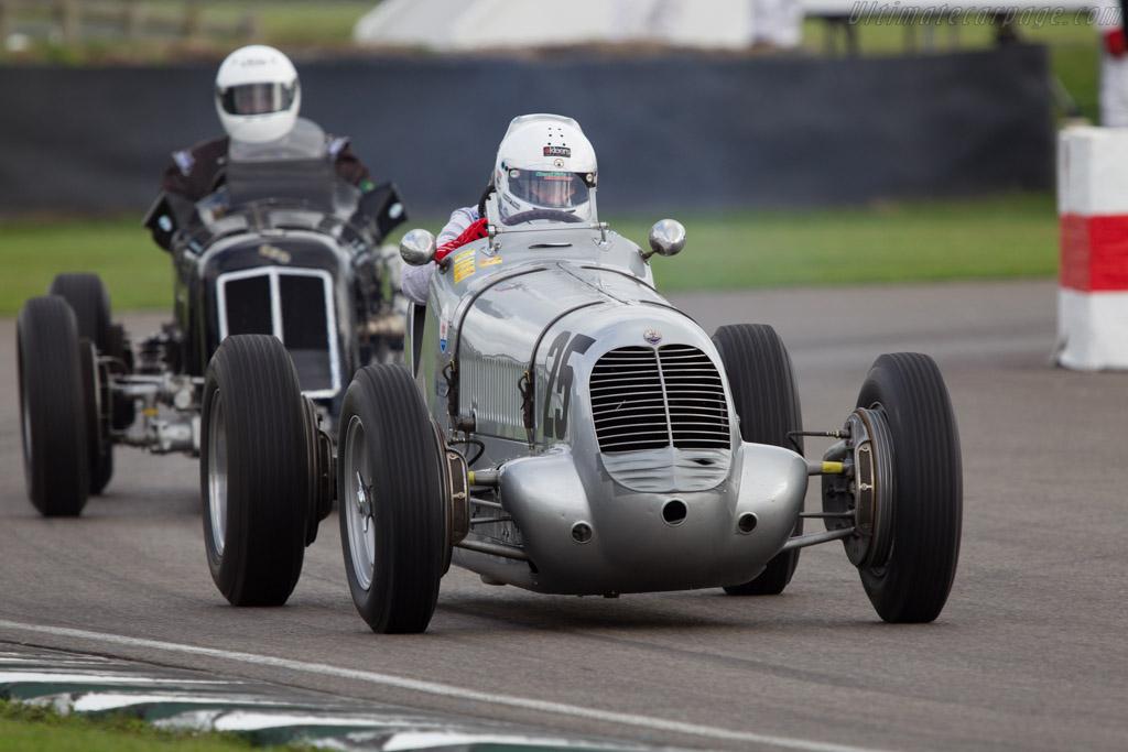 Maserati 6CM - Chassis: 1556 - Driver: Urs Muller  - 2013 Goodwood Revival