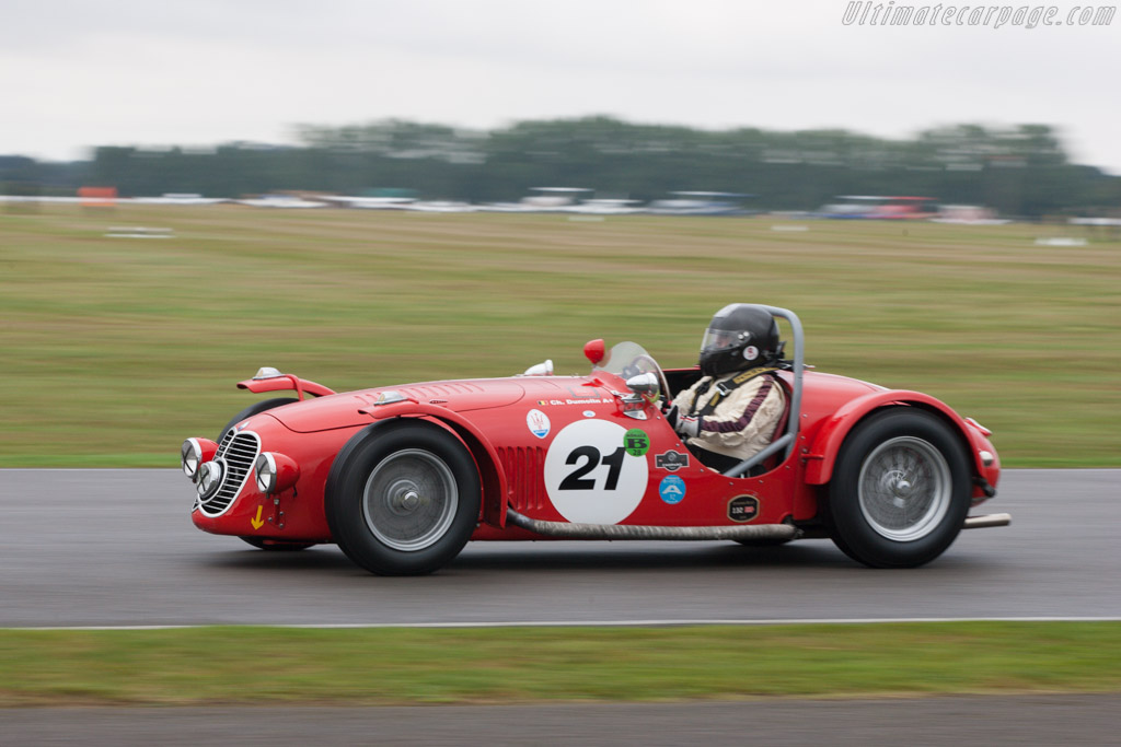 Maserati A6GCS - Chassis: 2002 - Driver: Christian Dumolin  - 2013 Goodwood Revival