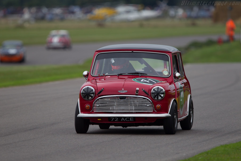 Mini Cooper S - Chassis: C-A2S7-381372 - Entrant: Andy Harrison - Driver: James Martin  - 2013 Goodwood Revival