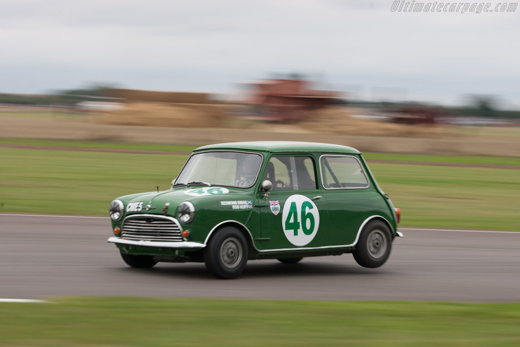 Mini Cooper S  - Entrant: Andrew Higginson - Driver: Rob Huff  - 2013 Goodwood Revival