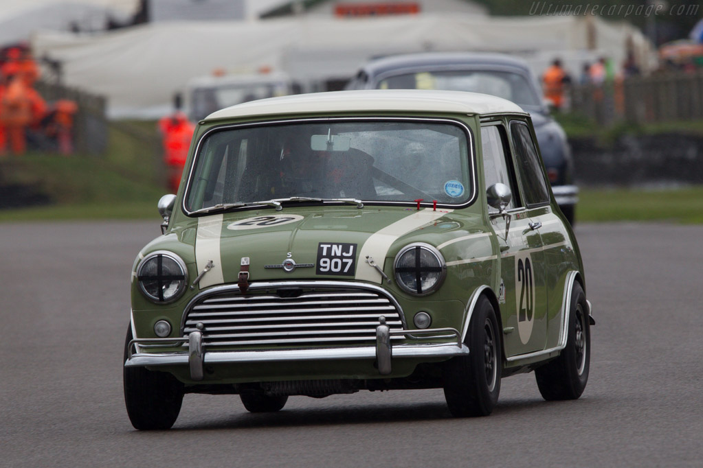 Mini Cooper S  - Entrant: Nick Swift - Driver: Oliver Gavin  - 2013 Goodwood Revival