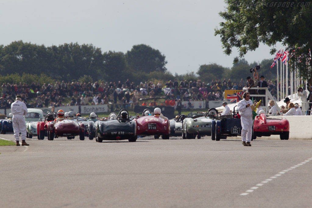 Off they go    - 2013 Goodwood Revival