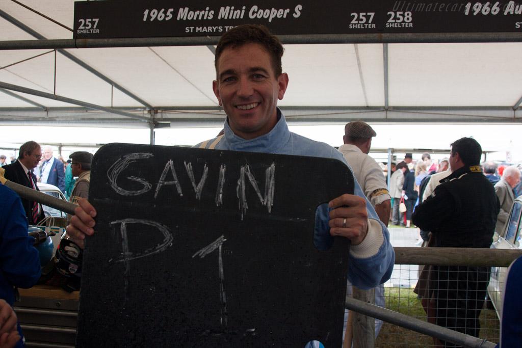 Pole Man Oliver Gavin    - 2013 Goodwood Revival