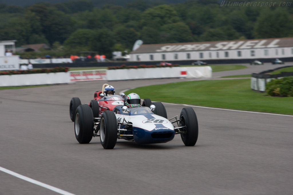 Scirocco SP1 BRM - Chassis: SP-1-63 - Driver: Tommaso Gelmini  - 2013 Goodwood Revival