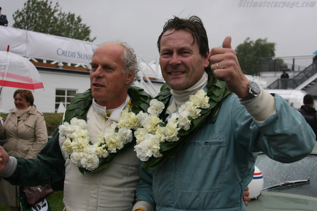 Simon Hadfield and Wolfgang Friedrichs    - 2013 Goodwood Revival