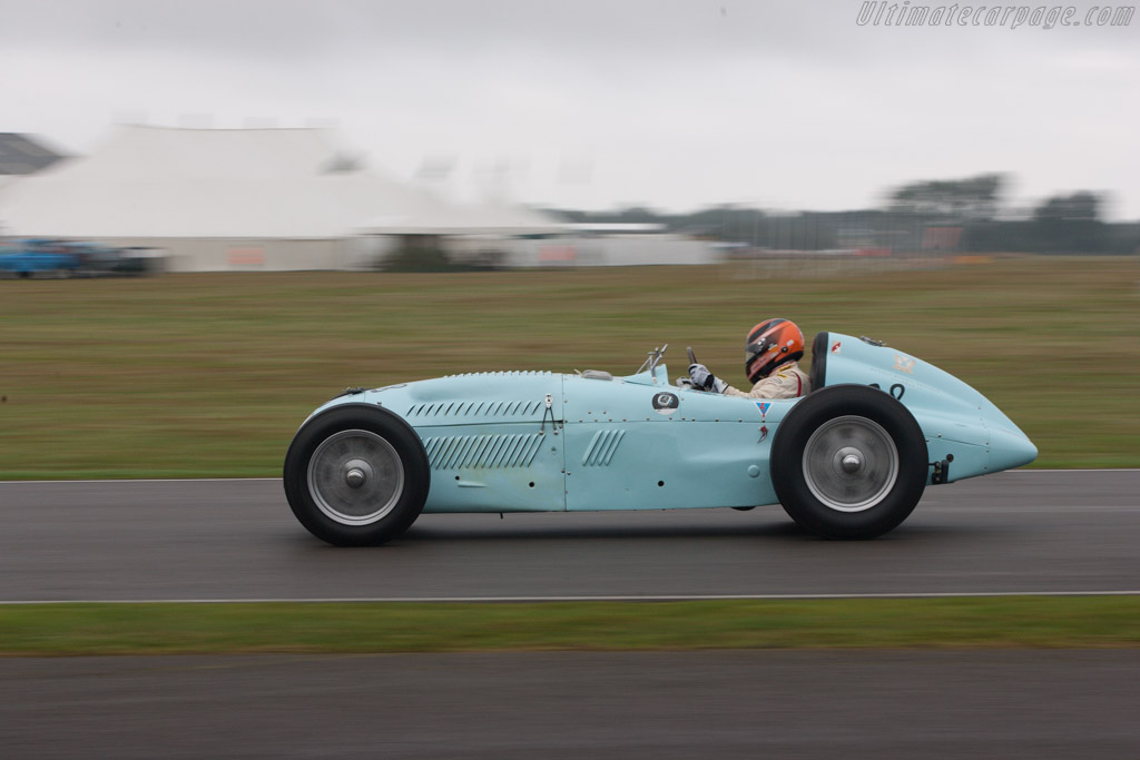 Talbot Lago Monoplace Decalee - Chassis: 90130 - Driver: Christian Traber  - 2013 Goodwood Revival