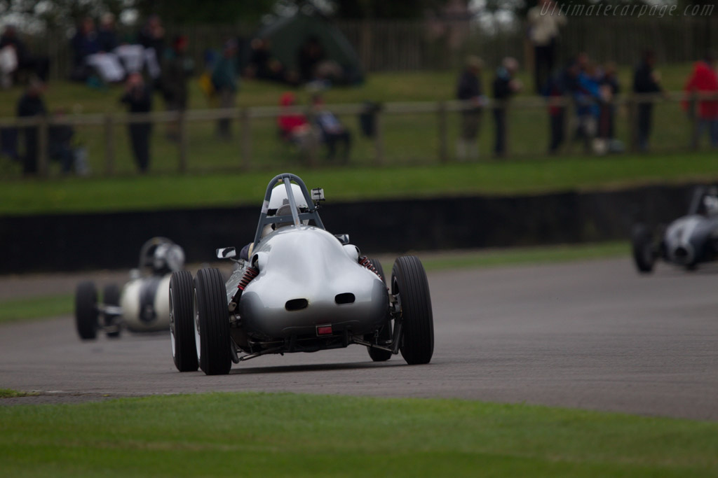 Tojeiro Ford  - Driver: Anthony Goddard  - 2013 Goodwood Revival