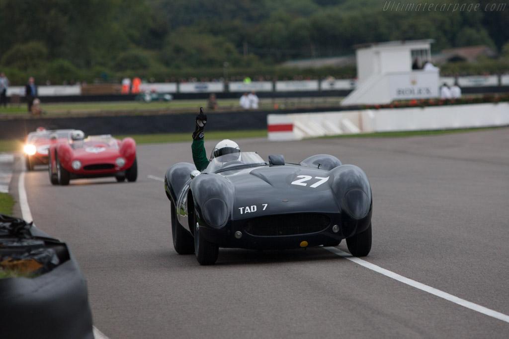 Tojeiro Jaguar - Chassis: TAD 7 - Driver: Matteo Maria Tullio  - 2013 Goodwood Revival