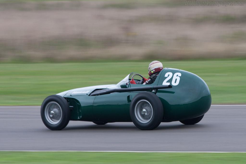 Vanwall GP - Chassis: VW7 - Driver: Willi Balz  - 2013 Goodwood Revival