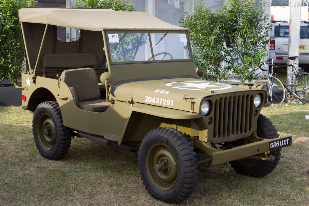 Willys Jeep - Chassis: MB341332   - 2013 Goodwood Revival
