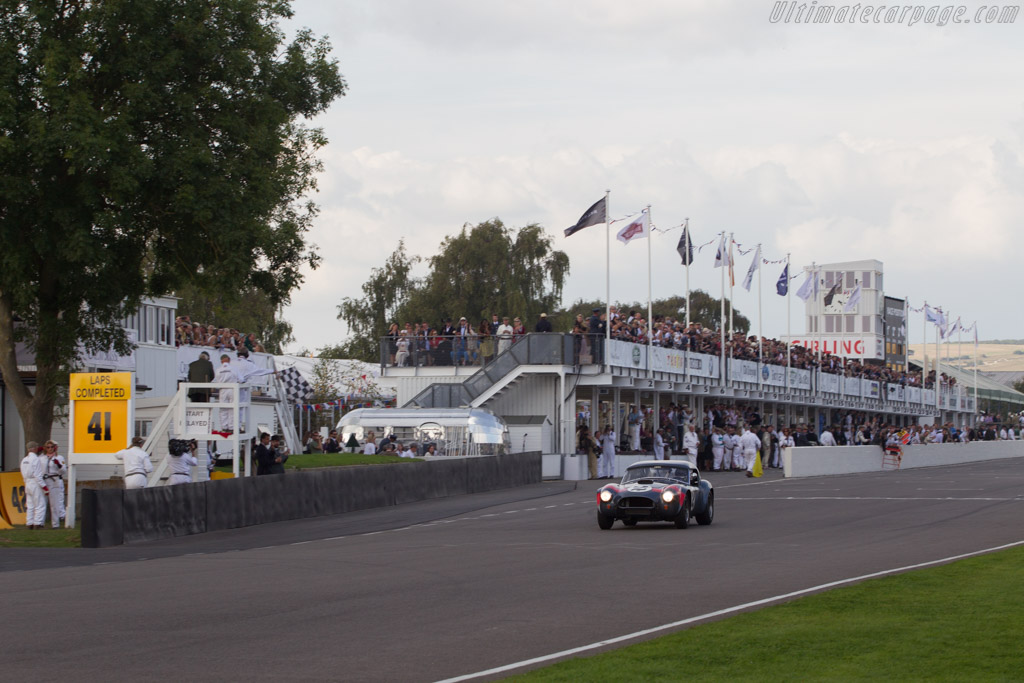 AC Shelby Cobra - Chassis: CSX2049 - Entrant: David Hart - Driver: Giedo van der Garde  - 2014 Goodwood Revival