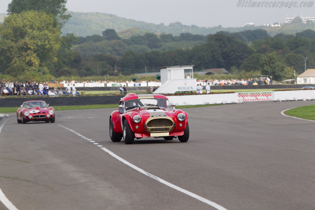AC Shelby Cobra - Chassis: HEM6 - Entrant: Grahame Bryant - Driver: Oliver Bryant / Andrew Smith  - 2014 Goodwood Revival