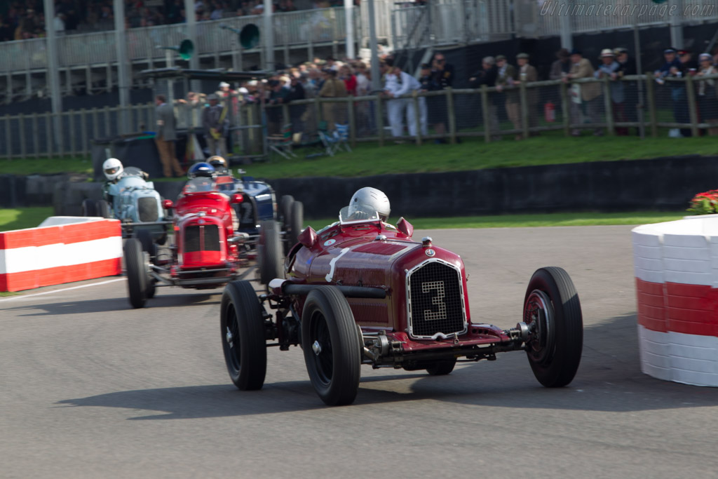 Alfa Romeo Tipo B - Chassis: 50004 - Driver: Stephan Rettenmaier  - 2014 Goodwood Revival
