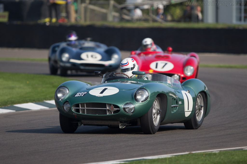 Aston Martin DBR1 - Chassis: DBR1/5 - Entrant: Wolfgang Friedrichs - Driver: Simon Hadfield  - 2014 Goodwood Revival